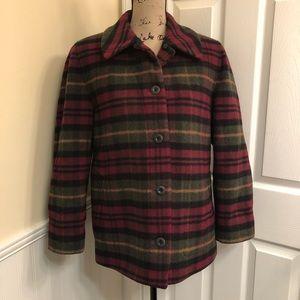 Vintage L.L. Bean petite medium wool coat